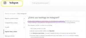 como usar hashtags en instagram